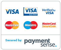 Payment Methods that we accept is PAYMENTSENSE